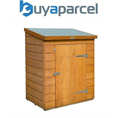 £184.01 • Buy Rowlinson Shiplap Wooden Mini Store Patio Garden Tool Shed Storage Unit Cabinet