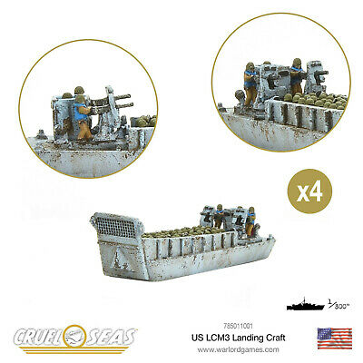 £15.30 • Buy Warlord Bolt Action Cruel Seas - WWII Naval Battle Game - US LCM3 Landing Craft