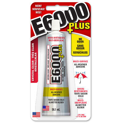 £10.99 • Buy E6000 PLUS Multi Surface - No Odour Industrial Strength Adhesive Glue Clear 56ml