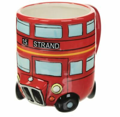 £8.95 • Buy Routemaster London Bus Retro Novelty 3d Round Coffee Mug Cup New In Gift Box