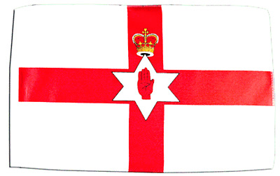 Northern Ireland Boat Flag 18  X 12  Ideal For Treehouses Sleeved 45cm X 30cm • 2.99£