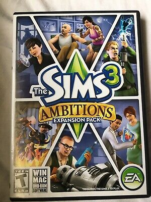 £5.66 • Buy The Sims 3: Ambitions Expansion Pack - PC/Mac
