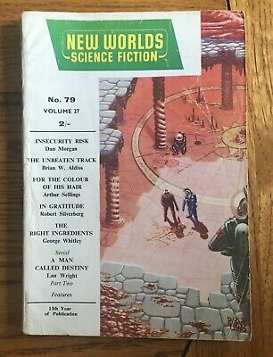 New Worlds Science Fiction No. 79, January 1959 Published By Nova Publications • 7.50£