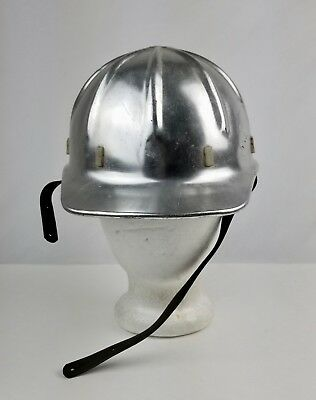 Vintage Apex Safety Products Aluminum Hard Hat Safety Helmet No Dents • 46.74$