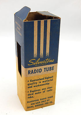 $ CDN22.32 • Buy NOS Silvertone Vacuum Radio Tube 35 A 5 Never Out Of Box Radio Amp 35A5