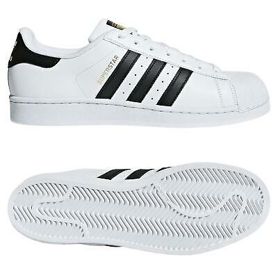 $ CDN86.34 • Buy Adidas ORIGINALS MEN'S SUPERSTAR TRAINERS SHOES SNEAKERS WHITE BLACK SHELL TOE