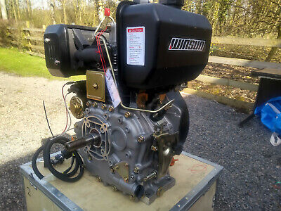 Winsun 188FB 13hp Air Cooled Diesel Stationary Engine Lomabardini/hatz/yanmar • 675£