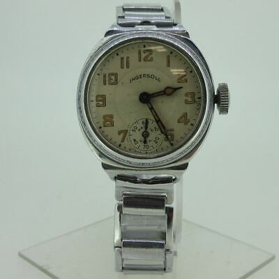 $ CDN38.10 • Buy Vintage Ingersoll Watch Co. U.S.A. Silver Tone Watch Parts As-Is