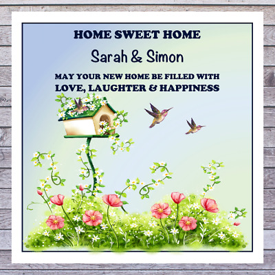 .. Personalised New Home House Warming Cards • 2.85£