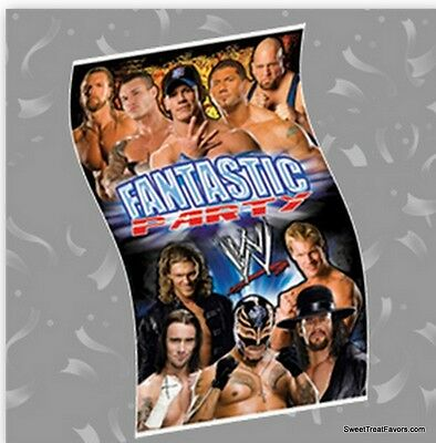 WRESTLING WWE Party Supplies BANNER Birthday Poster Undertaken AAA Decoration NW • 9.37£