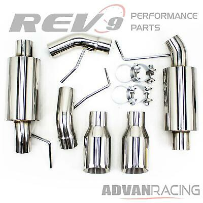 $280 • Buy For Mustang V8 05-10 Sport Tone Muffler Axle Back Exhaust Kit Stainless Steel