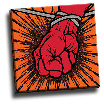Metallica St Anger Giclee Canvas Album Cover Picture Art • 18.60£