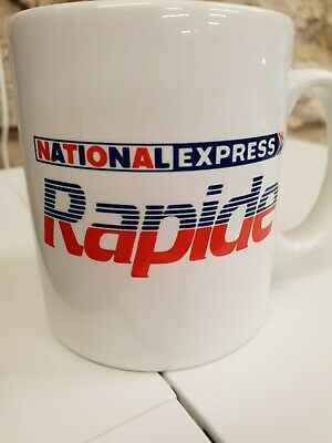 National Express Rapide 1980s Coach Bus Logo Branding Cup / Mug • 9.99£