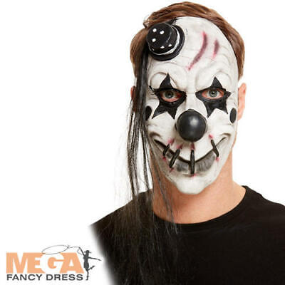 £9.49 • Buy Scary Clown Latex Mask Adults Fancy Dress Halloween Circus Costume Accessory