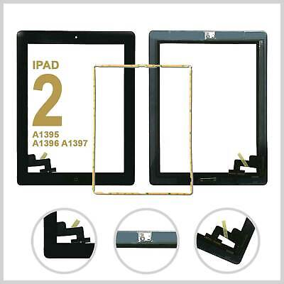 £7.99 • Buy IPad 2 A1395 A1396 A1397 Screen Black Digitizer Touch Replacement Button IC