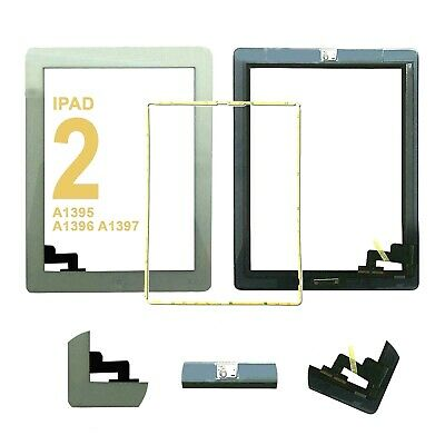 £6.99 • Buy IPad 2 A1395 A1396 A1397 Screen White Digitizer Touch Replacement Button IC