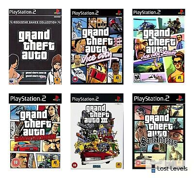 £4.97 • Buy Ps2 - Grand Theft Auto - Choose Your Game Multi Listing