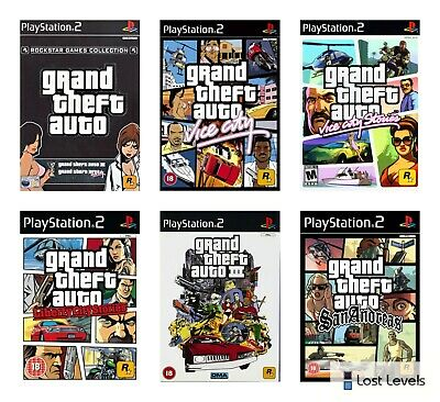 £5.97 • Buy Ps2 - Grand Theft Auto - Choose Your Game Multi Listing