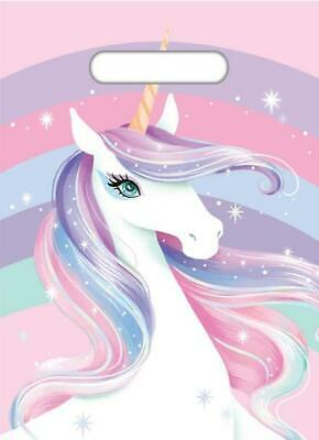 AU2 • Buy Unicorn Party Loot Bags - 8 Pack