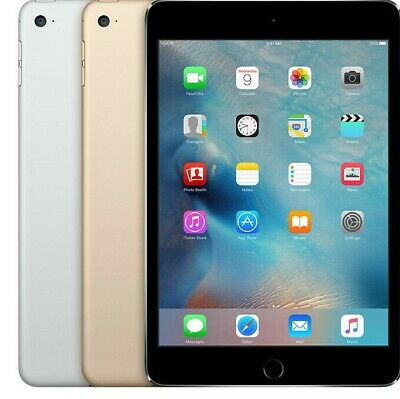 $ CDN342.09 • Buy Apple IPad Mini 4 Wi-Fi + Cellular - 16GB 32GB 64GB 128GB Space Gray-Silver-Gold