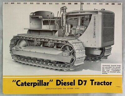 caterpillar brochure