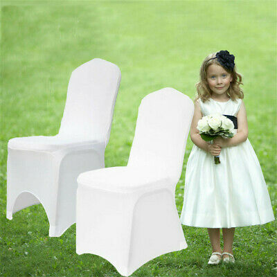 £219.88 • Buy Chair Covers Spandex Soft Cover Wedding Banquet Anniversary Party Decor Modern