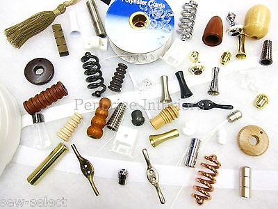 Roman Blind Parts Spares Supplies Cord Pulls Sewing Fabric Workroom Accessories • 6.04£