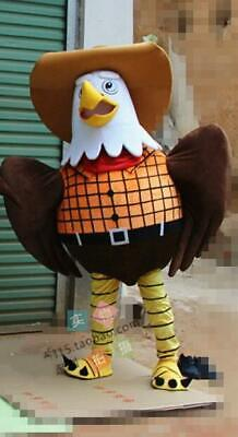 1# Adult Eagle Mascot Costume Cosplay Game Dress Outfit Advertising Halloween 1P • 248.20£