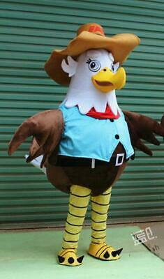 2# Adult Eagle Mascot Costume Cosplay Game Dress Outfit Advertising Halloween 1P • 248.20£