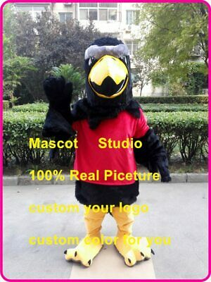 Eagle Mascot Costume Cosplay Party Game Dress Unisex Advertising Halloween Adult • 256.50£