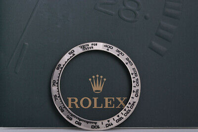 $ CDN1156.27 • Buy Rolex White Gold Bezel For Daytona 116529 Bezel Has Been Re Enameled FCD9124