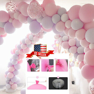 $4.99 • Buy Balloon Arch Frame Kit Column Water Base Stand Wedding Birthday Party Decor A+++
