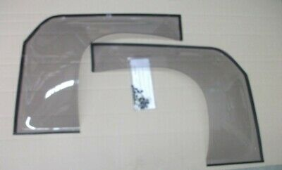 AU155 • Buy Weathershields Suit Landcruiser 75 Series Troopy / PC Full Size With 1/4 Glass