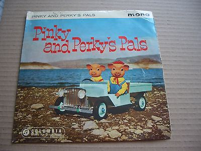 Pinky And Perky - Pinky And Perky's Pals - Original 7  P/s Ep - Flipback Sleeve • 2£