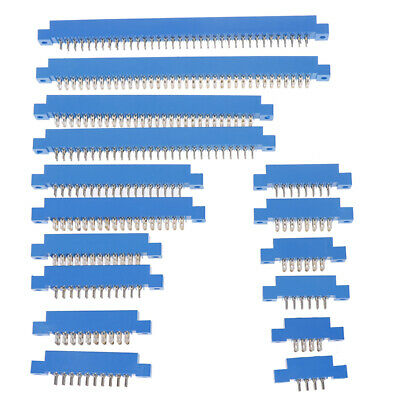 $1.08 • Buy 1Pcs 805 Series 3.96mm Pitch PCB Slot Solder Card Edge Connector 8-72 PES