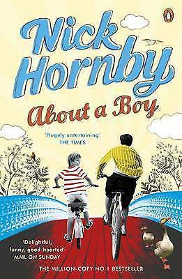 AS NEW  Hornby, Nick, About A Boy, Paperback Book • 2.59£