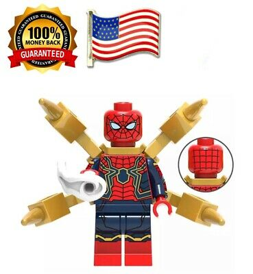 lego marvel custom spiderman