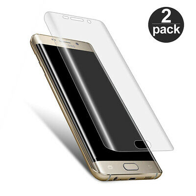 $ CDN3.75 • Buy 2-PACK Full Cover Screen Protector Film For Samsung Galaxy S6 S7 S8 Edge Plus