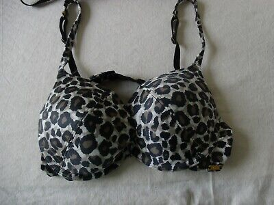 Ultimo Gel Filled Underwire Animal Print Or Lace Cup Push Up Bra 32G • 29.99£