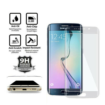 $ CDN4.63 • Buy For Samsung Galaxy S6 Edge Plus Curved FULL Tempered Glass Screen Protector