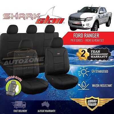 AU285 • Buy Neoprene Seat Covers For Ford Ranger PX MK2 XL XLS XLT Dual Cab 06/2015 - On