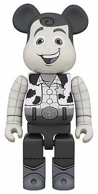 $249.99 • Buy Toy Story Woody Black & White 400% Bearbrick Figure By Medicom