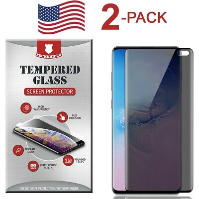 $ CDN10.09 • Buy 2-Pack PRIVACY Tempered Glass Full For Samsung Galaxy S8 S9 S10 Plus Note 8 9