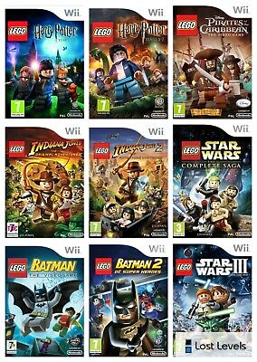 £5.97 • Buy Wii - Lego - Same Day Dispatched - Choose Your Game - VGC