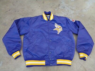 quality design 9d752 e13cb minnesota starter jacket