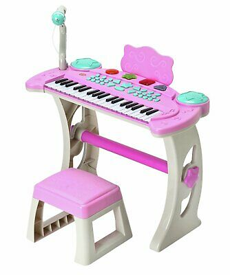 £30 • Buy Chad Valley Keyboard Stand And Stool Pink - 3+ Years