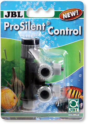 JBL Pro Silent Air Control Twin Valve Aquarium Fish Tank Air Pump Regulator • 5.29£