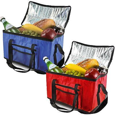 £7.95 • Buy 26l Extra Large Cooling Cooler Cool Bag Box Picnic Camping Food Ice Drink Lunch