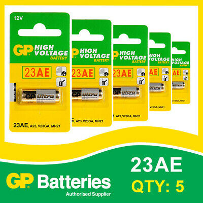 $ CDN5.56 • Buy GP Alkaline High Voltage 23AE (MN21) Battery Card Of 5 [ENTRY REMOTES, TOYS]