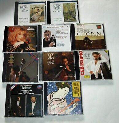 $ CDN33.95 • Buy Classical Cello: Lot Of 10 CDs Chamber, Concertos, Orchestral; Yo-Yo Ma & Others